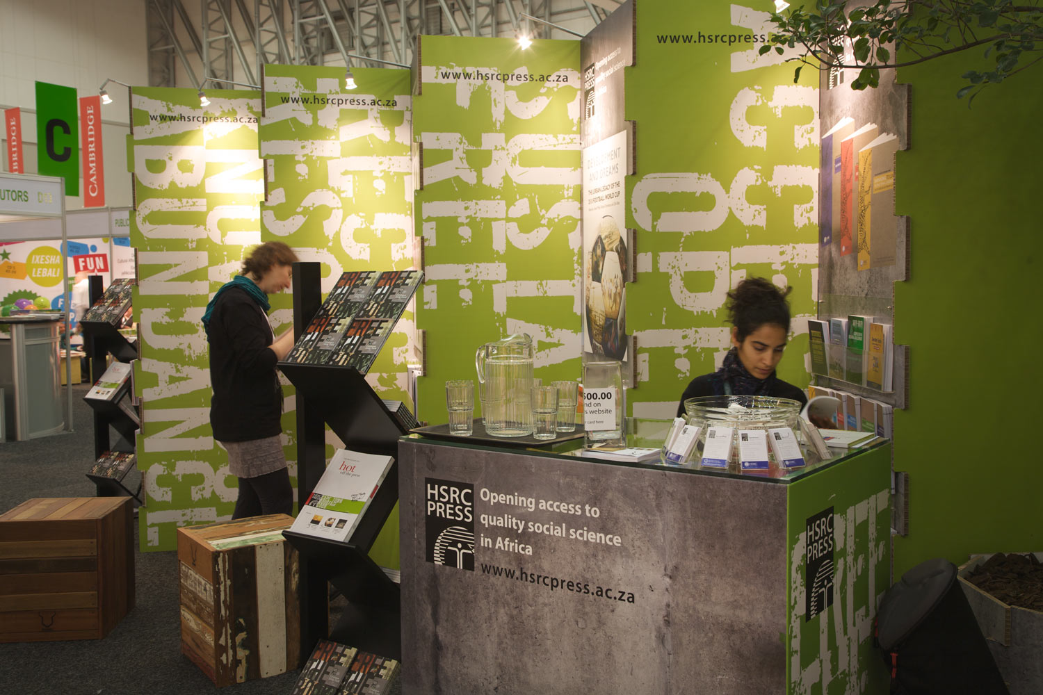 Exhibition Stand Hire Cape Town : Self standing exhibition stand for hsrc press farm design