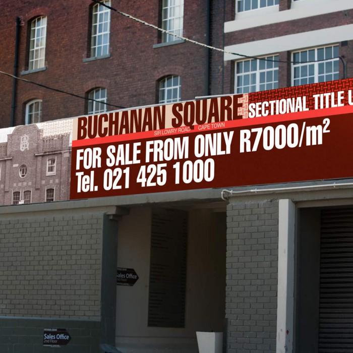Buchanan Square billboards