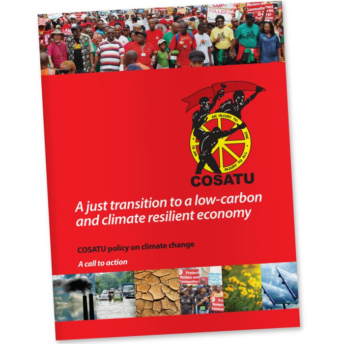 COSATU climate change document