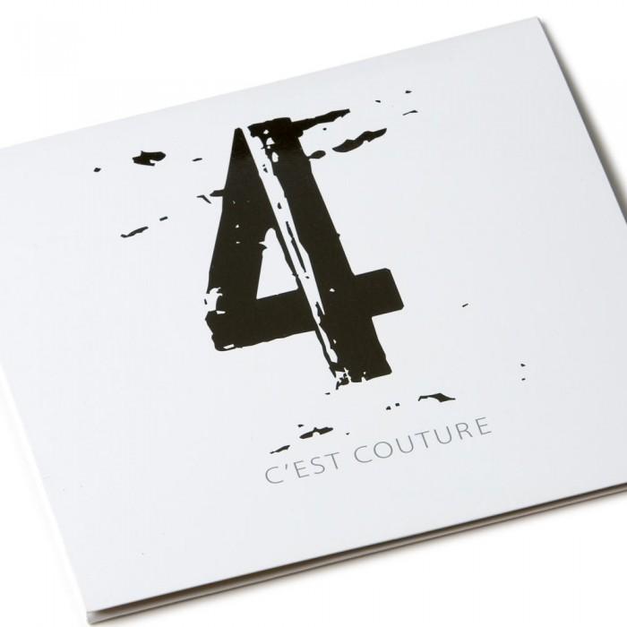 C'Est Couture fashion show invitation