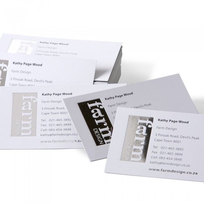 Farm Design business cards