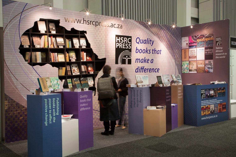 Exhibition Stand Hire Cape Town : Hsrc press stand at cape town book fair farm design