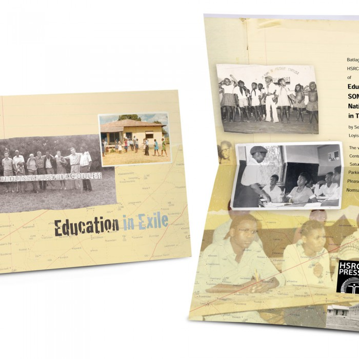 Education in Exile book launch invitation