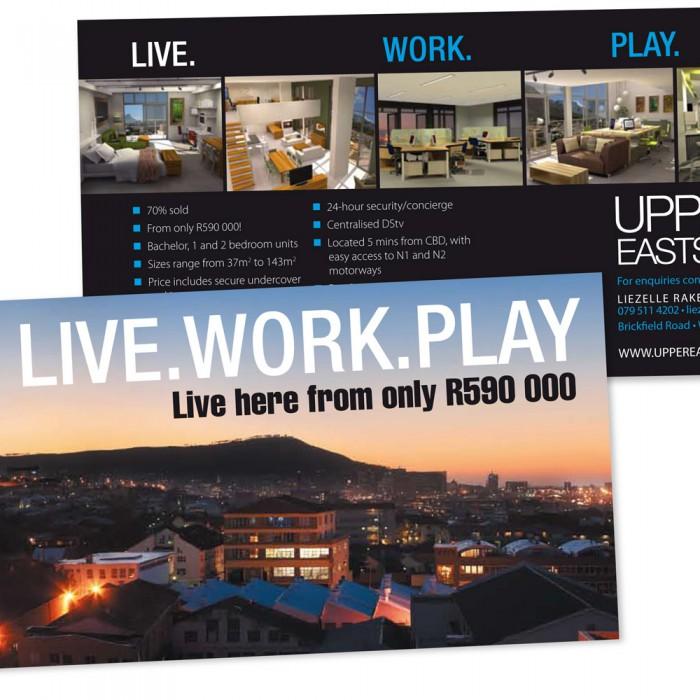 Upper Eastside development leaflets