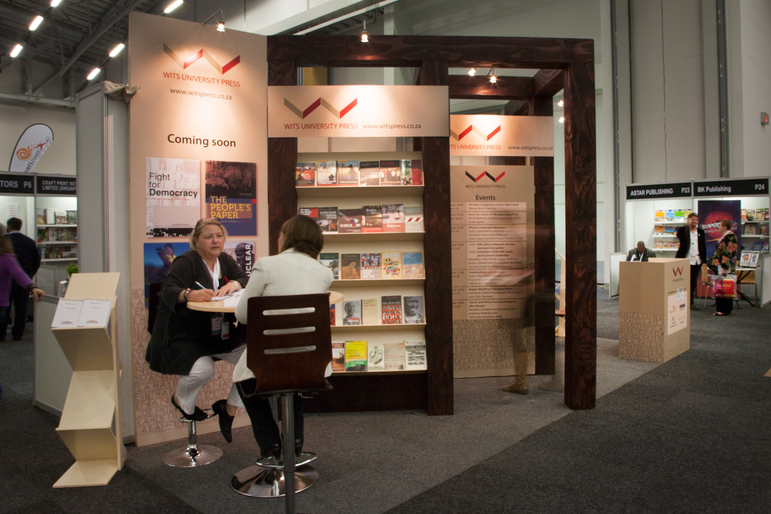 Exhibition Stand Design Books : Wits university press exhibition stand u farm design