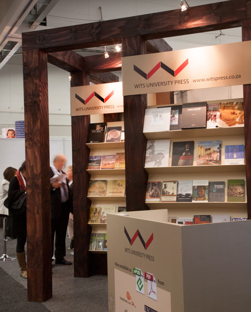 Exhibition Stand Design Books : Wits university press exhibition stand farm design