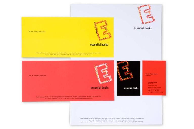 Essential Books corporate identity