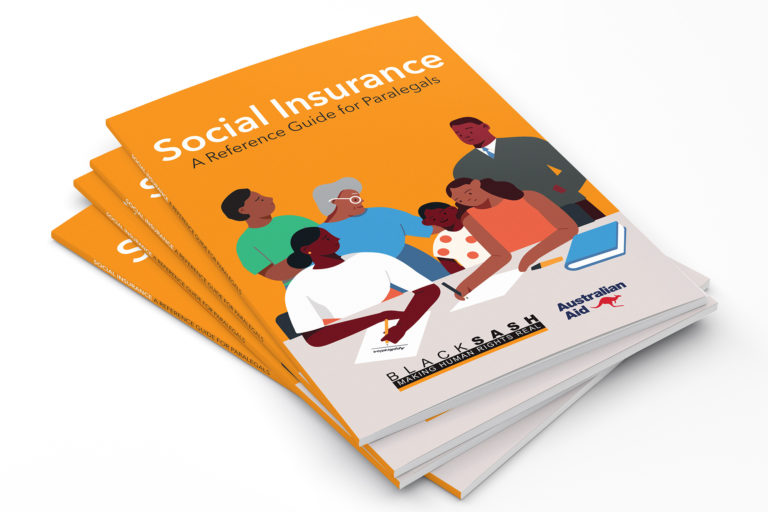 Black Sash Social Insurance Reference Guide for Paralegals
