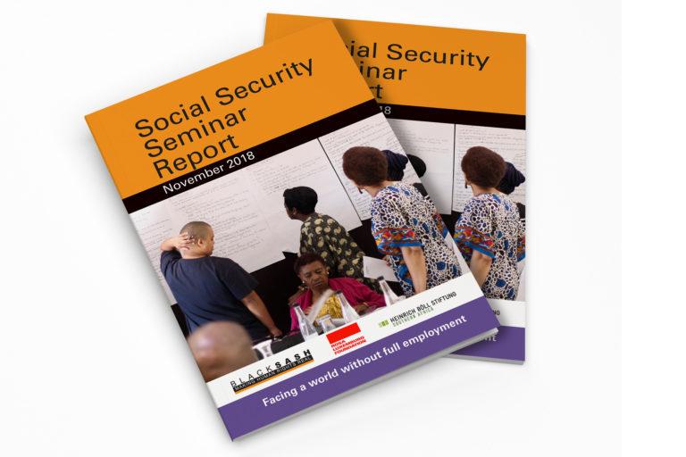 Black Sash Social Security Seminar Report