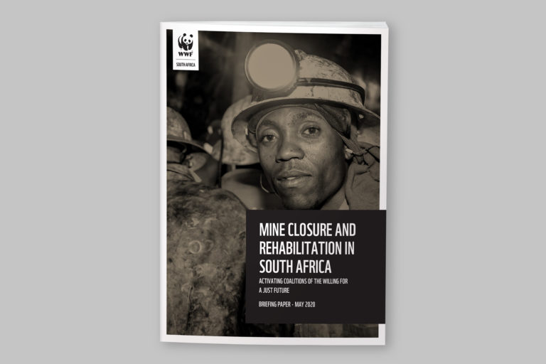 WWF Mine Closure and Rehabilitation in South Africa