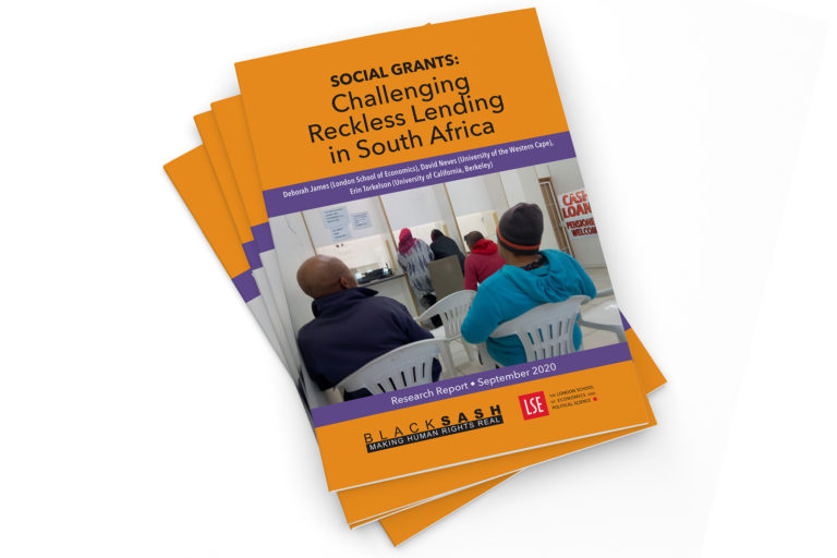 Social Grants: Challenging Reckless lending in South Africa